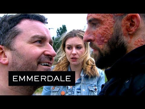 Emmerdale - Ross Uses Violence to Prove Himself to Connor