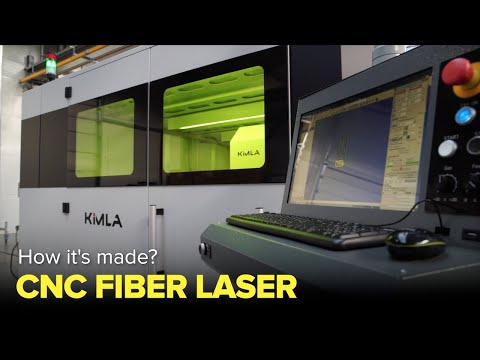 How CNC fiber lasers are made? - Factories