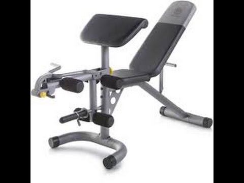 Installing Gold S Gym Xrs 20 Olympic Workout Bench Youtube