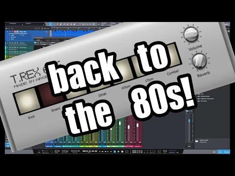 T Rex 606 FREE VST Drum Machine Review