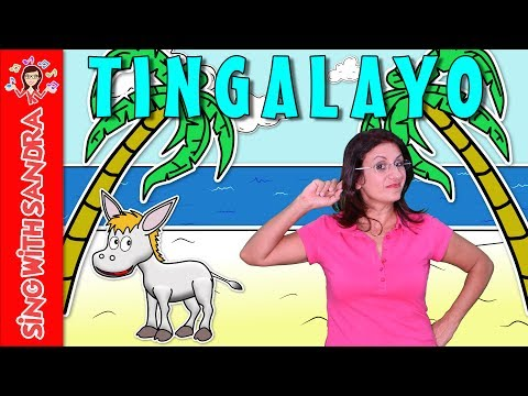 Tingalayo | Children's Songs | Nursery Rhymes | Music For Kids | Songs For Kids | Sing With Sandra