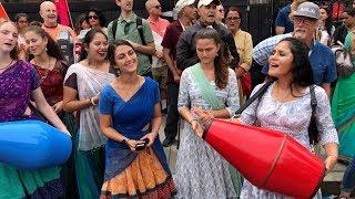 Hare Krishna kirtan by Kishori Yatra at Boston Ratha Yatra 2019