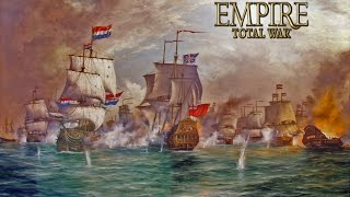 Empire Total War | Batalla Naval | Inglaterra Vs Francia