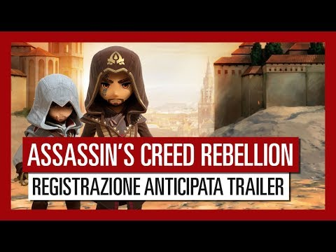 Assassin's Creed Rebellion - Registrazione anticipata trailer