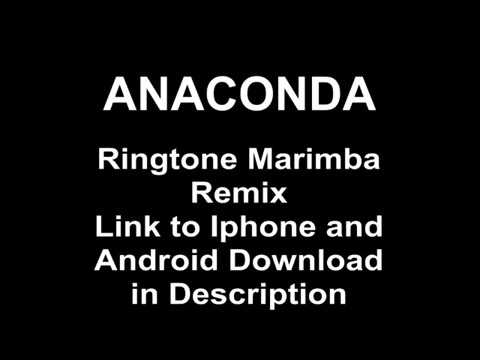 Nicki Minaj ringtone anaconda
