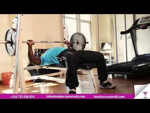 Best Gym In Nairobi CBD - { Hotel Accra Fitness }