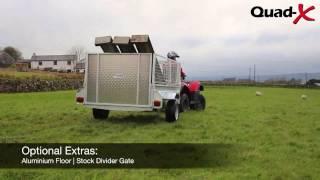 quad x 7x4 general purpose trailer