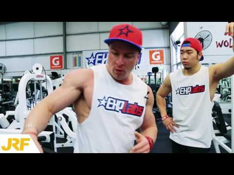Intense Shoulder & Abs Workout w/ Tips & Advice! - EHPlabs Expo Winners!