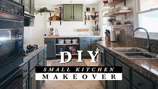 DIY Small Kitchen Makeover