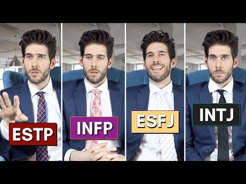 16 Personalities at a Job Interview (funny)