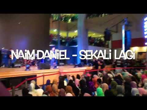 Naim Daniel - Sekali Lagi (Live Showcase Fantastik 4 Hot Fm)