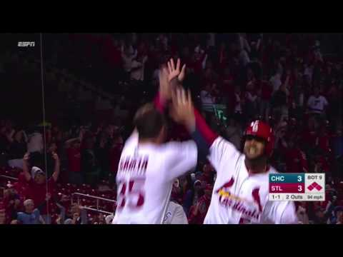CHC@STL: Grichuk wins it with a walk-off single