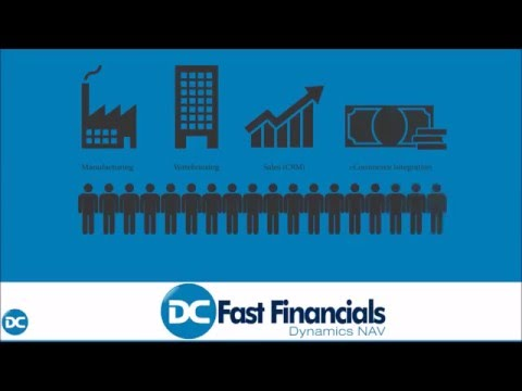 Fast Financials Dynamics NAV - the perfect ERP software for small businesses