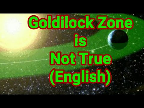 Goldilock Zone is Not True (English)