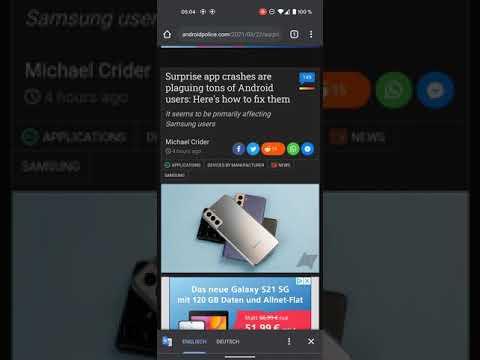 App-Abstürze durch Android System Webview verhindern