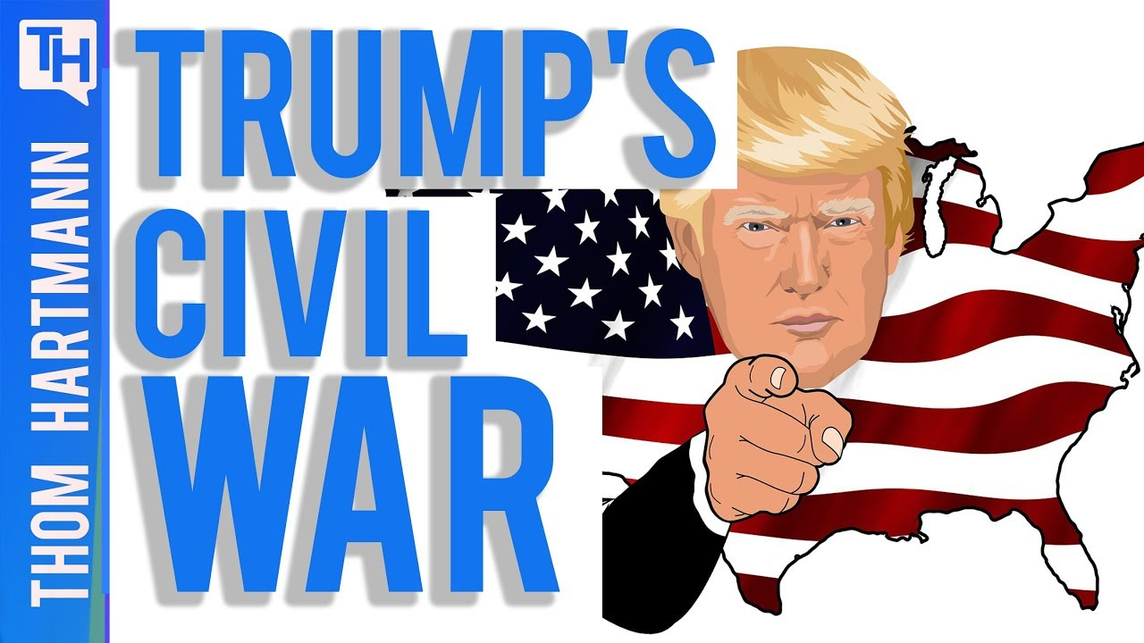 Will Trump Cause A Civil War?