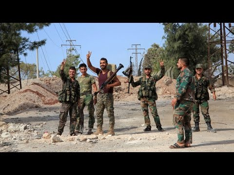 Syrian Army seizes Aleppo's central district from terrorists
