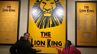 BEST SHOW ON BROADWAY!!!! THE LION KING!!! (MUST WATCH!!!!)
