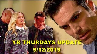YR Daily News Update  9/12/19 - The Young And The Restless Spoilers - YR Thurdays, September 12th