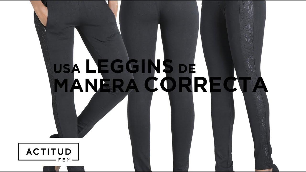 ¿Cómo usar leggins sin verte mal  ¡Aquí te lo decimos!  e5b9049c12a