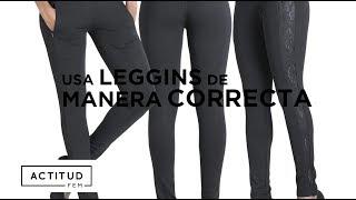 ¿Cómo usar leggins sin verte mal? ¡Aquí te lo decimos! | ActitudFEM