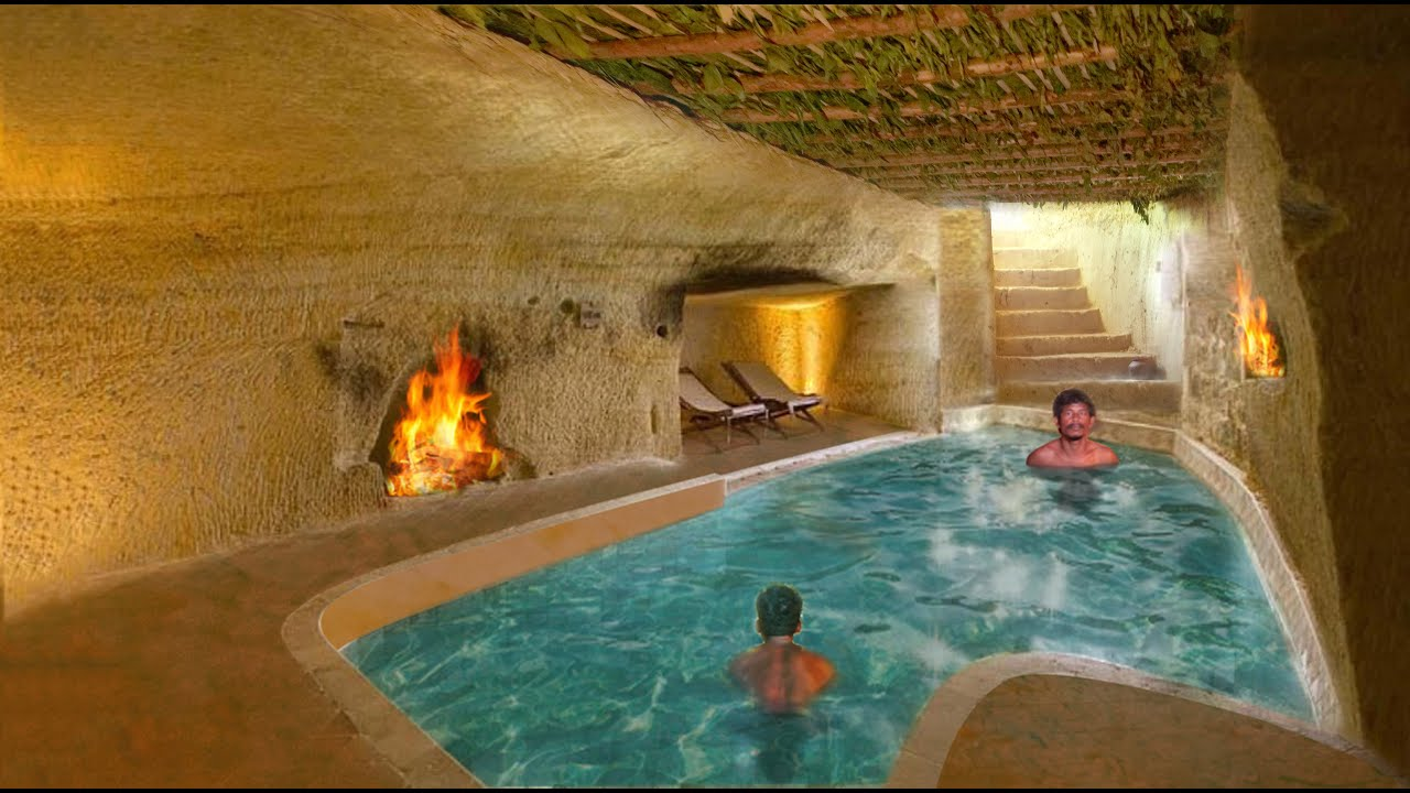 Download Unbelievable! 60 day Build Underground Swimming Pool In Underground House [ Full Video ]