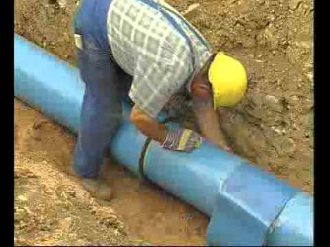 Steel Water Pipe Laying 2