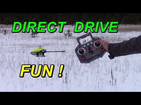 OMPHobby M2 Helicopter Review & Flight
