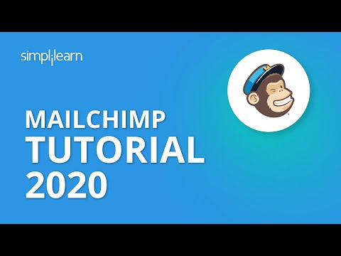 Mailchimp Tutorial 2020 | Mailchimp Email Marketing | How To Use Mailchimp For Beginner |Simplilearn