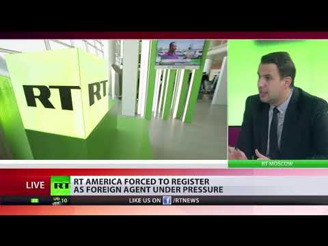 RT America forced to register as foreign agent in US