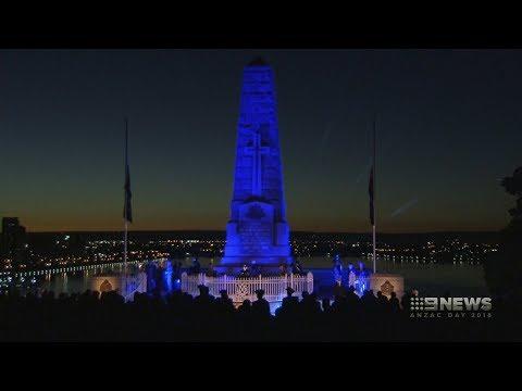Perth Dawn Service | 9 News Perth