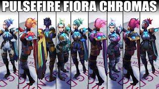 Pulsefire Fiora Chroma 2020