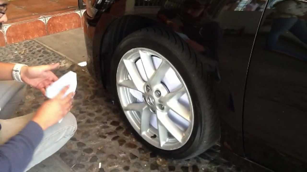 Como Aplicar Plastidio En Rines Plasti Dip Nissan Maxima