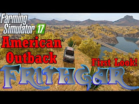 American Outback Console Map Exclusive First Look!