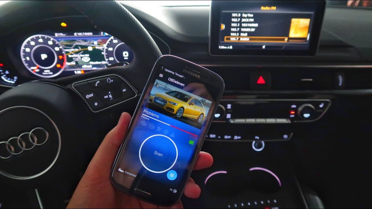 Mod your Audi A4 ECU & Software with OBDEleven