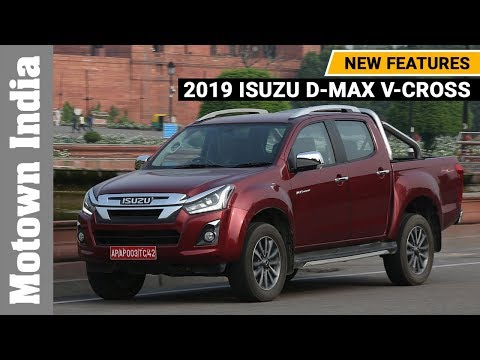2019 Isuzu D-Max V-Cross with 20 new features | Motown India