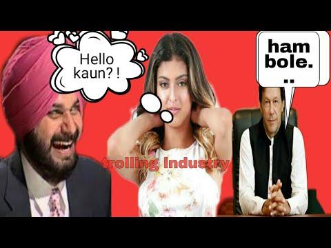 Hello kaun | imran khan | sidhu | sophia leone | funny video hindi |pakistan troll 😝|
