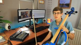 DIY Electric Cello Q&A - How I Made It Resimi