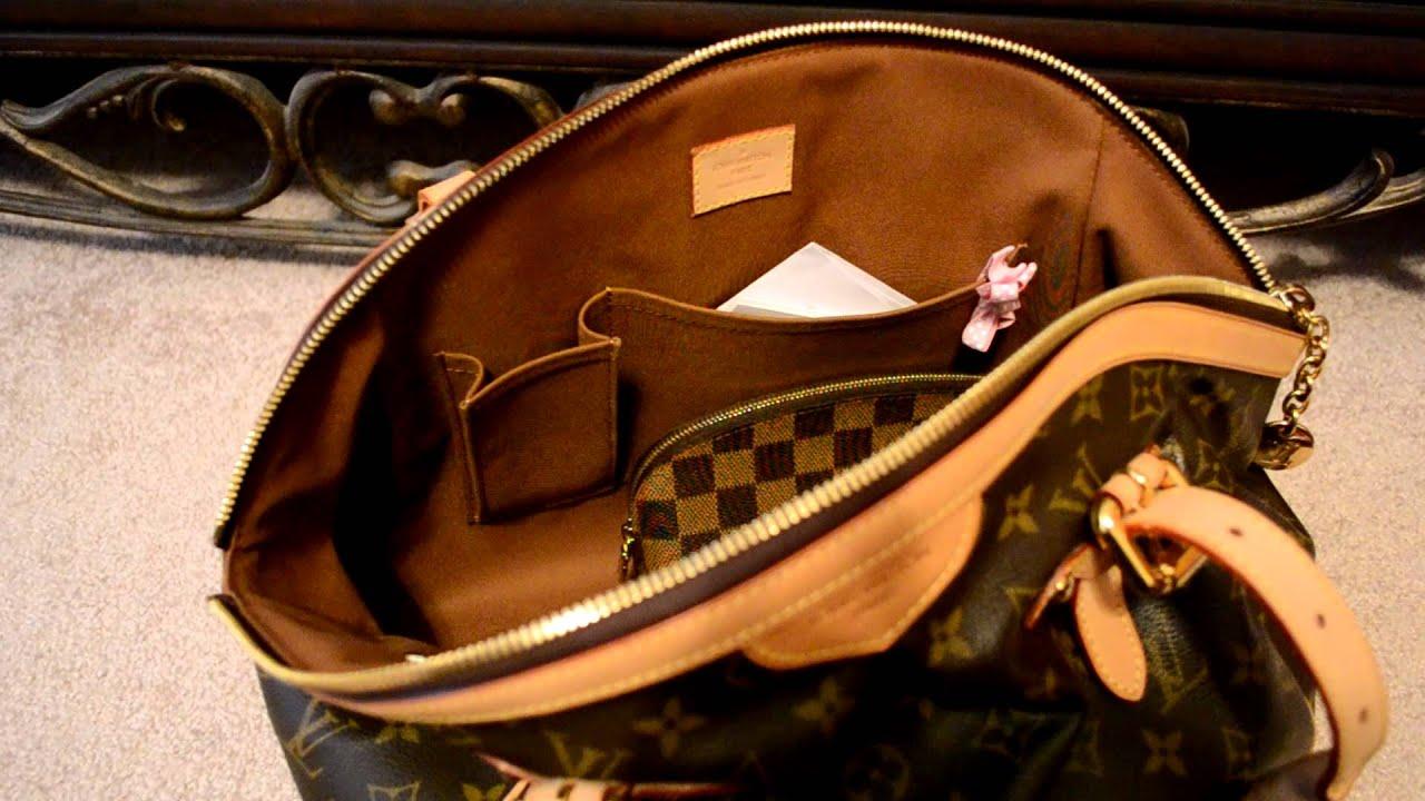 What S Inside My Bag Louis Vuitton Tivoli Gm Handbag Showing Fits You