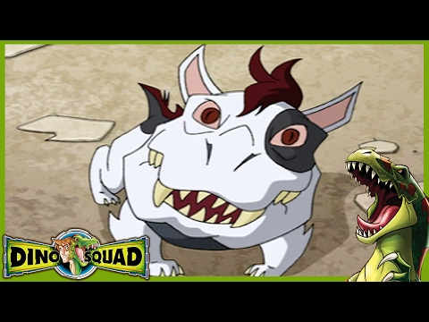 Dino Squad 105 - Who Let The Dog Out   HD   Full Episode   Dinosaur Cartoon