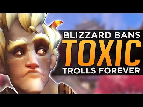 Overwatch: Blizzard BANS Toxic Trolls FOREVER