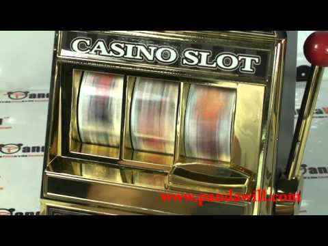 Classic Global Casino Slot Machine Bank For Coin Saving and Fun