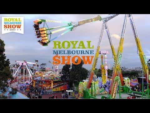 Royal Melbourne Show 2017 Rides