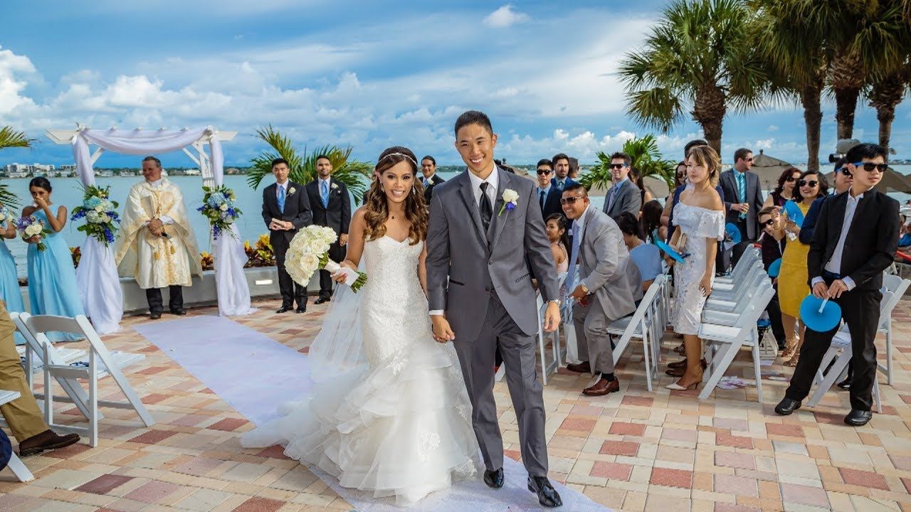 Wedding At Clearwater Beach Marriott Sand Key Youtube
