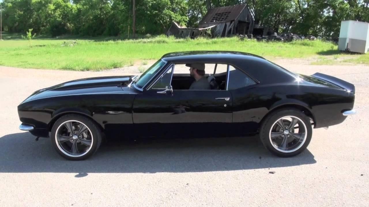 1968 Camaro Matte Black >> 1967 Camaro RS SS 350 deluxe interior 6555 - YouTube