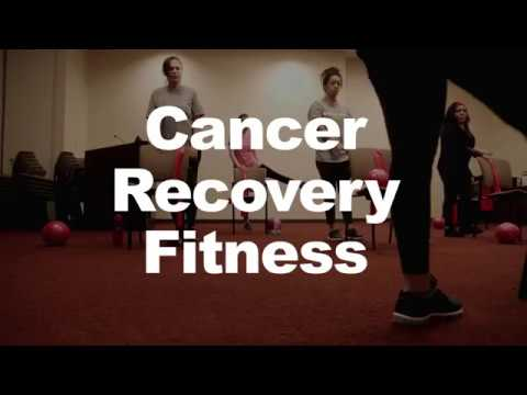 Oncology fitness instructors lead gentle strength and stretching exercises for anyone in treatment or post-treatment. This class is among the free programs provided by Cancer Support Community at Holy Name Medical Center in Teaneck.
