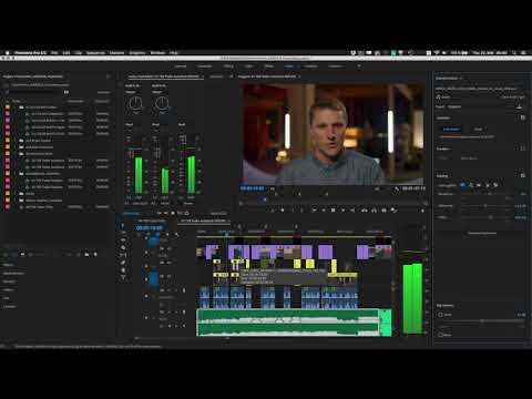 Auto Ducking in Premiere Pro (12.1) | Adobe Creative Cloud