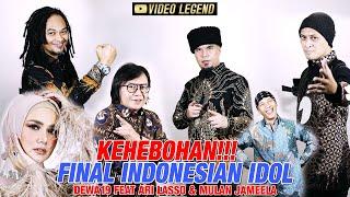 Download [TRENDING] KeHEBOHan Final Indonesian Idol 2021 - Dewa19 Feat Ari Lasso & Mulan Jameela