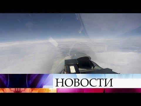 Российские летчики перехватили