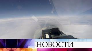 Российские летчики перехватили над Балтийским морем самолеты-разведчики США и Швеции.